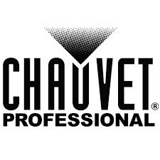 Chauvet Professional logo featuring a black triangle.