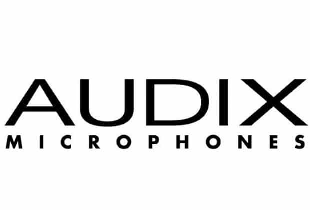 The Audix microphones logo.